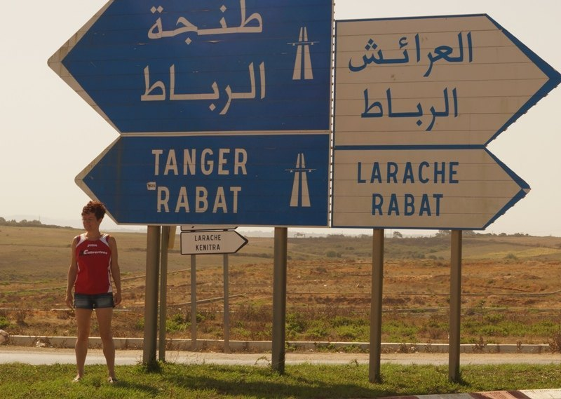 Running in Morocco