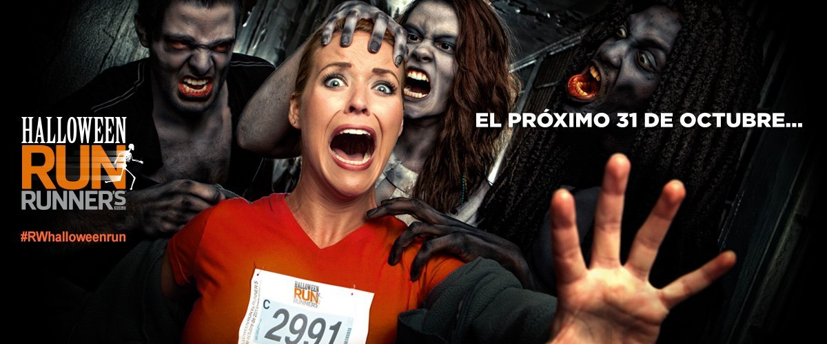 Halloween Run, ¡vas a tener que correr...!