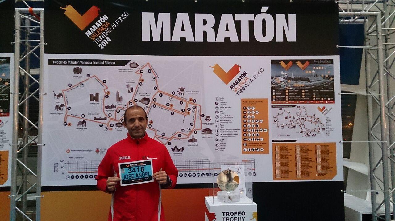 Maratón Valencia 2014