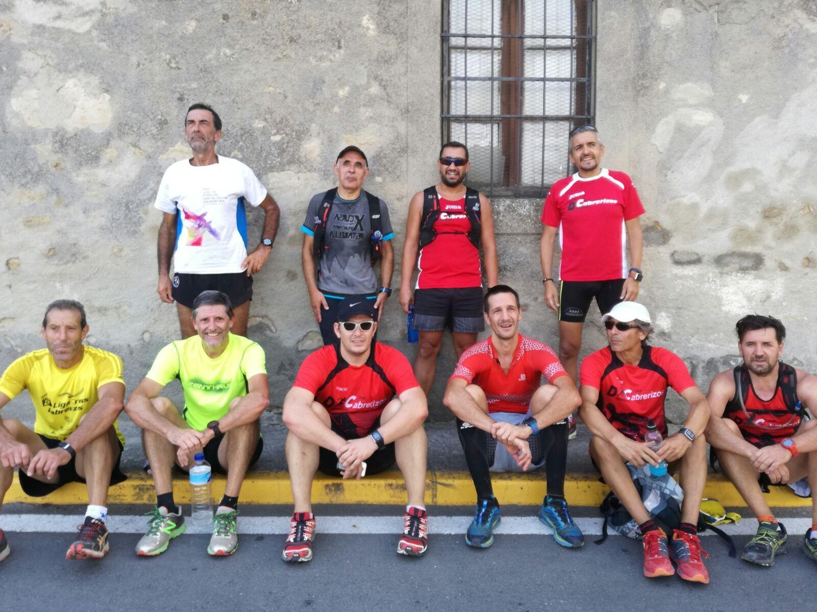 Hoy invitamos a conocer el trail a ... Atletas Veteranos de Salamanca