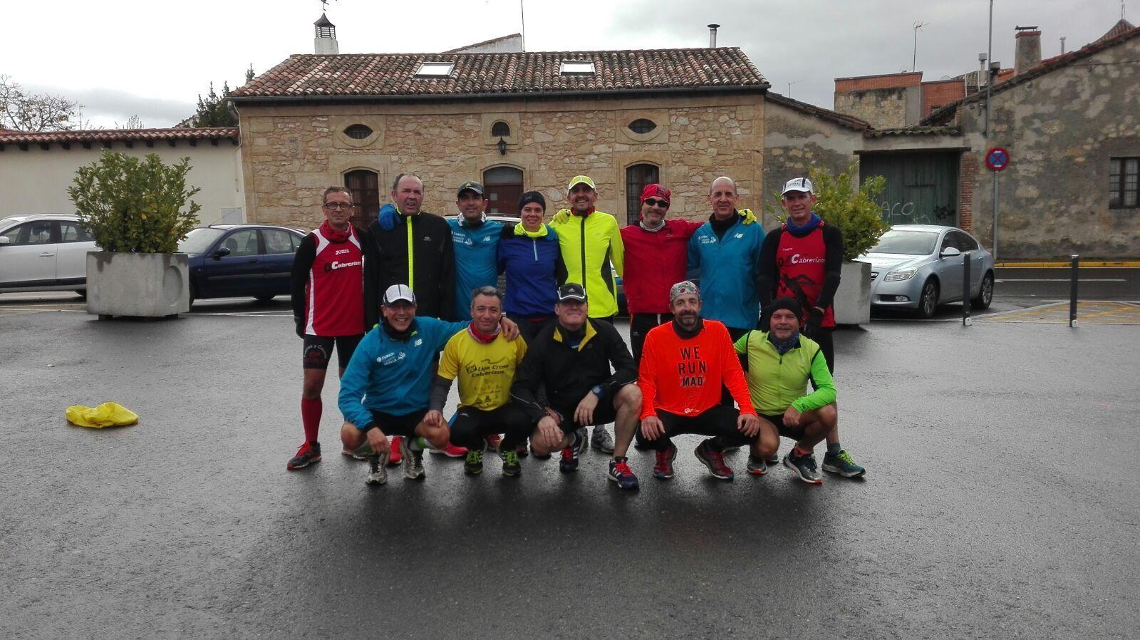 #RoadtoSevilla + IV Vuelta Pedestre de Salamanca +Salida BTT