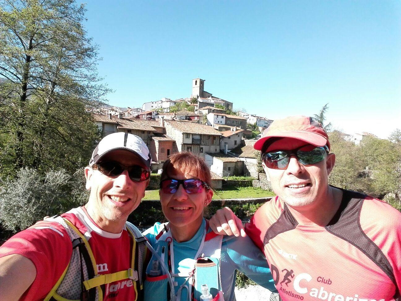 Preparando la III Carrera por Montaña Hervás-Deportes Parra