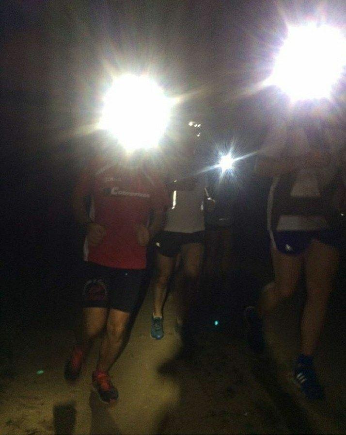 Running nigth